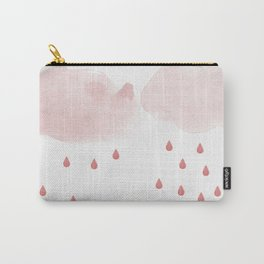 Clouds and rain, nursery art Carry-All Pouch