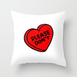 Conversations over Throw Pillow