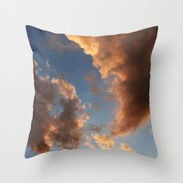 Grand Clouds Throw Pillow
