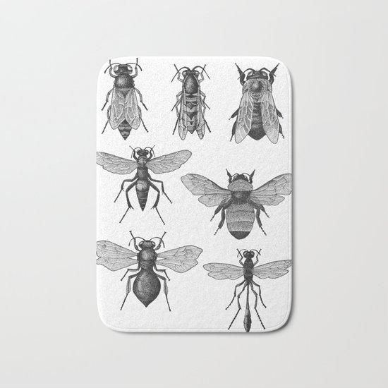 Bees and Wasp Bath Mat