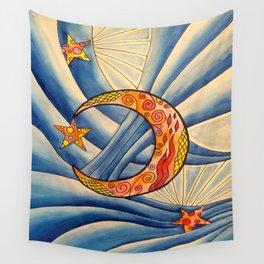 Moon & Stars Wall Tapestry