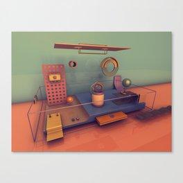#01 Playground Boxes Canvas Print
