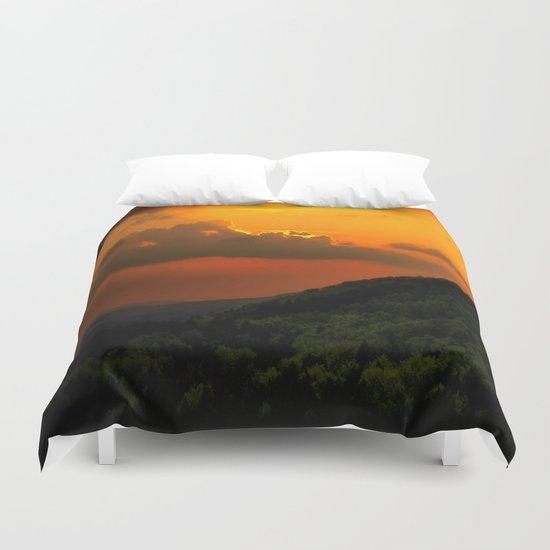 Magical Sunset Duvet Cover