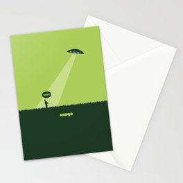 WTF? Ovni! Stationery Cards