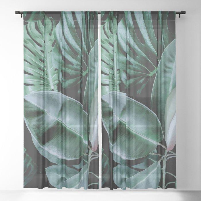 Night Garden Sheer Curtain