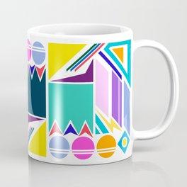 Geo Splash Coffee Mug