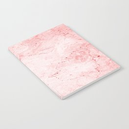 Red Marble Notebook