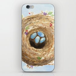 Chubby Nest iPhone Skin