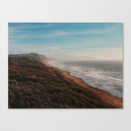 Fort Funston Park in San Francisco, California Canvas Print