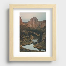 Smith Rock Recessed Framed Print