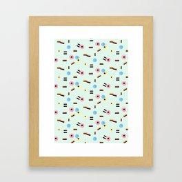 sweet things: allsorts Framed Art Print