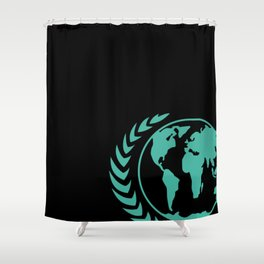 United Earth Government Shower Curtain
