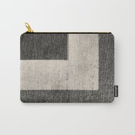 NOIR ABSTRACT / Angle Carry-All Pouch