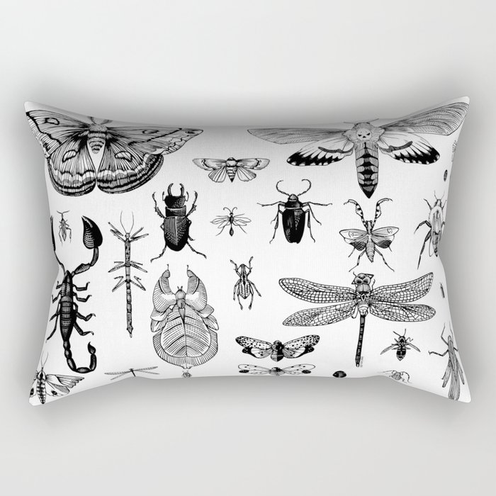 Bug Board Rectangular Pillow