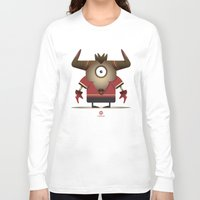 taurus Long Sleeve T-shirts featuring TAURUS by Angelo Cerantola