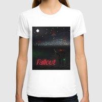 fallout T-shirts featuring Fallout Pixels by Kazisvet