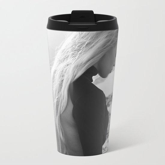 Black queen Metal Travel Mug