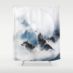 Ware Wolves #society6 #decor #buyart Shower Curtain