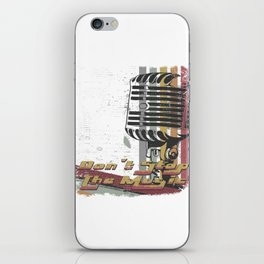 DON´T STOP THE MUSIC iPhone Skin