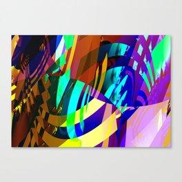 vampire colors Canvas Print