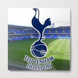 tottenham hotspurs football Metal Print