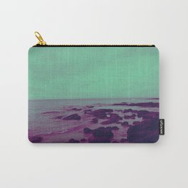 Purple Rocks Carry-All Pouch