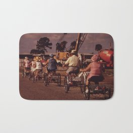 Tricycle Club Bath Mat