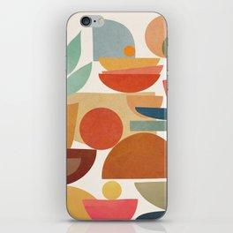 Modern Abstract Art 78 iPhone Skin