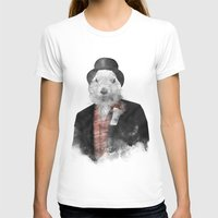 phil jones T-shirts featuring Mr. Phil by Robert Farkas