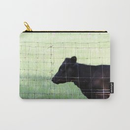 Fencing Cow Carry-All Pouch
