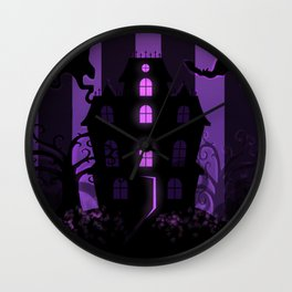Be it ever so Haunted, there's no place like home. Wall Clock