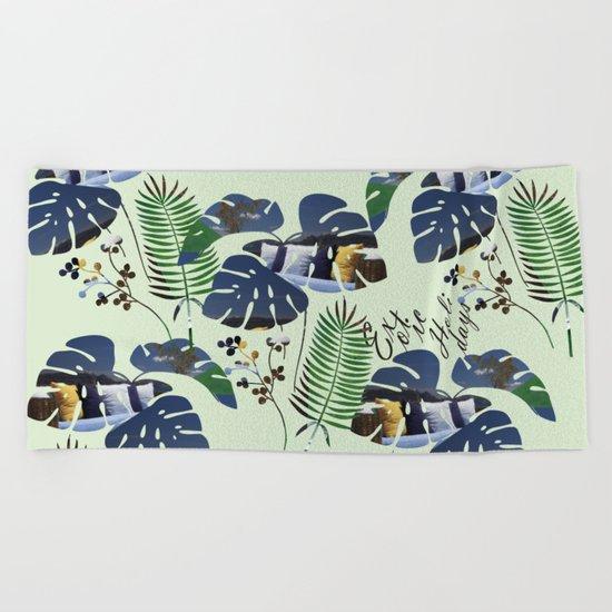 Exotic Holidays Beach Towel