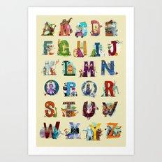 The Animals' Alphabet Art Print