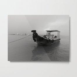 Heritage Fishing Boat Metal Print