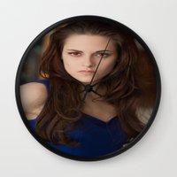 saga Wall Clocks featuring Twilight saga by Duitk
