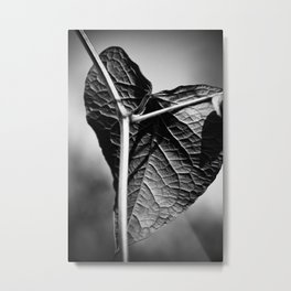 crucified heart Metal Print