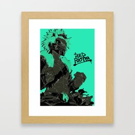 Eijiro Kirishima from BHA Framed Art Print