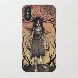 Witch of the Wood iPhone Case