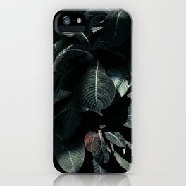 Exotic Greenery iPhone Case