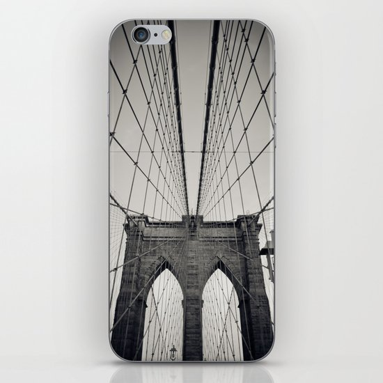 Brooklyn Bridge B/W | New York City iPhone & iPod Skin