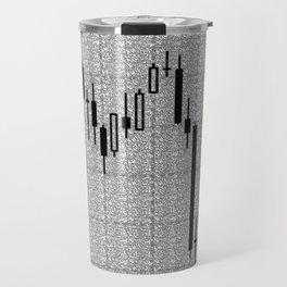 Candlestick, Forex Travel Mug