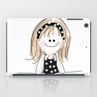girly iPad Cases featuring girly by Indraart