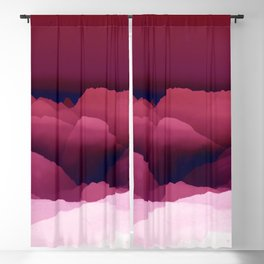 Red Mountain Blackout Curtain
