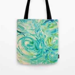 marbling twirl Tote Bag