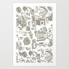 Misc. Parts Art Print