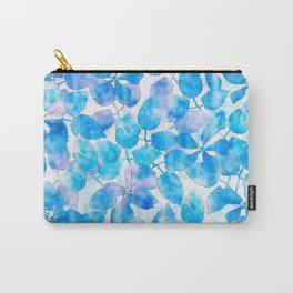 Watercolor Floral V Carry-All Pouch