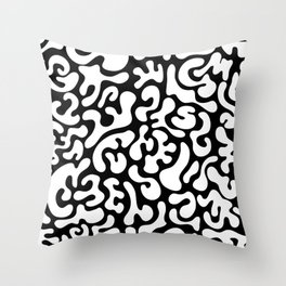 Social Networking (Reverse) Throw Pillow