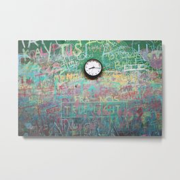 Chalk it up to Time Metal Print