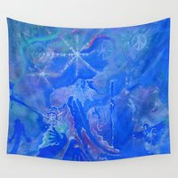 wizard Wall Tapestries featuring Wizard by InSight Out