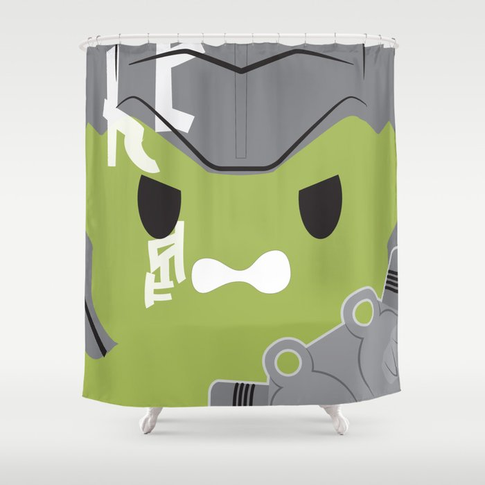 Gladiator Hulk Block Shower Curtain